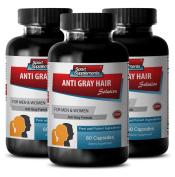 Folic acid pills - Anti Grey Hair - Chlorophyll pills