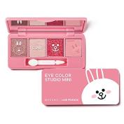 Missha X Line Friends Eye Colour Studio Mini #01 Cony Pink