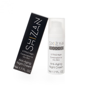 Natural Organic Night Moisturising Cream by Shizan - Citrus-Based Lightweight Night Moisturiser with Cold-Pressed Oils, Hydrators, Nutrients, & Antioxidants for Minimising Fine Lines, Wrinkles, & Dryness.