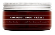 CreekBaby - Coconut Body Créme - Helps Reduce the Appearance of Cellulite and Prevents Stretch Marks - Hydrating and Nourishing - 240ml