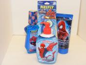 The Amazing Spiderman Bath Set Bundle of 4