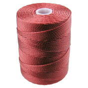 C-LON Bead Cord, Venetian Red- .5mm, 92 Yard Spool