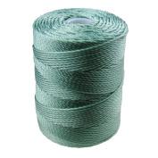 C-LON Bead Cord, Sage Green- .5mm, 92 Yard Spool