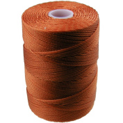C-LON Fine Weight Bead Cord, Light Copper - 0.4mm, 136 Yard Spool