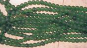 "NEW Bead, Beach Sea Glass (Man Made) Green 10mm - 12"""