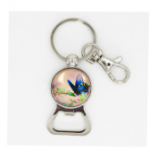 Butterfly bottle opener keychain Wearable Art Photo bottle opener keyring Nature Photography bottle opener keychain for Woodland Lovers Magical Nature key ring