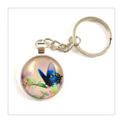 Butterfly keychain Wearable Art Photo keyring Nature Photography keychain for Woodland Lovers Magical Nature key ring