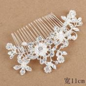 Bridal Comb, Rhinestone Hair Piece, Wedding Hair Accessory, Bridal Hair Piece, Crystal Pearl Combmbs Jewellery,Girl Accessory, Crystal Bridal Hair Pins,Crystal Hair Accessory