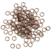 5mm OPEN OR SPLIT/DOUBLE JUMP RING 20g CONNECTORS 100pc FREE SHIPPING