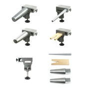 Bench Anvil Deluxe Kit- Round and Oval Bracelet Mandrels, Ring Mandrel,Bench Pin, and Steel Anvil - SFC Tools - 13-132