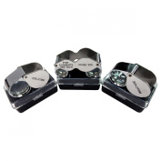 HTS 410S3 3Pc 10x / 20x / 30x Singlet Jeweller's Loupe Set