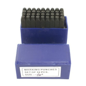 Letter and Number Stamp Set 0.3cm 36pcs - SFC Tools - 55-105