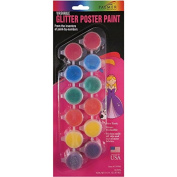 Washable Poster Paint Pots 70ml-Glitter