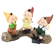 NOQ Three Home Furnishing Resin Crafts Jewellery Stump Child