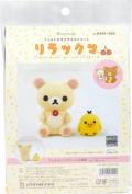 Hamanaka felt wool kit Relax Korilakkuma and Kiiroitori mascot H441-456