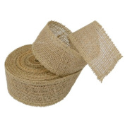 Burlap Jute Ribbon 5.1cm x 10 Yards