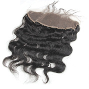 Full Shine 20cm Brazilian Frontal Closure Body Wave Frontal Closure Hair 13x 4 Free Part Natural Colour Can Be Dyed