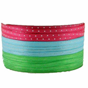 Spritz Fabric Ribbon-3 End X 11m Brights