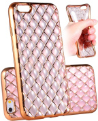 iPhone 6s Plus Case, UnnFiko Flexible Air Cushion Clear Transparent TPU Shockproof Case with Protective Rugged Bumper Cover for iPhone 6s Plus(5.5)
