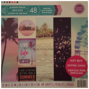 Craft Smith 12X12 Paper Pad SUMMER DREAM