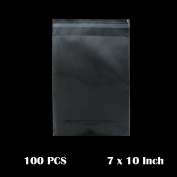 The Elixir Packaging 18cm x 25cm , Clear Reclosable Resealable Cello Poly Plastic Bags, 100 Count, Meets USDA FBA Standards