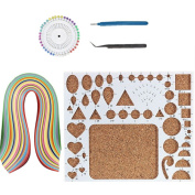 IMISNO DIY Quilling Kit for Quilled Creations Beginner