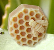 6.4cm Bee Honeycomb Craft Art Silicone Soap mould Craft Moulds DIY