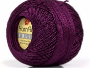 Grape - Yarn Art Tulip Size 10 Microfiber Thread - 50 Gramme