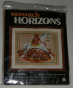 Horizons PONY EXPRESS Counted Cross Stitch Kit