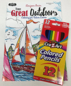"""Adult Colouring """"The Great Outdoors Colouring for Nature Lovers"""""""
