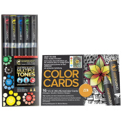 Chameleon Primary Tones Set of 5 Pens with Zen Colour Cards