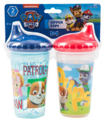 Nickelodeon PAW Patrol Chase and Friends Slim Sippy Cups, Blue and Red, 2 Count