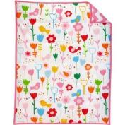 Pinwheel Sweet Tweet 3-Piece Crib Bedding Set