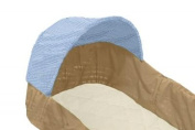 Snoozy Organic Cotton Bassinet Mattress Pad with Stay on Corners