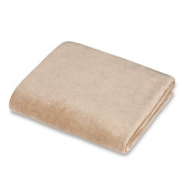 Natural Organic Cotton Velour Cradle Sheet, 100% Organic Cotton in Mocha