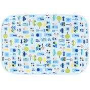 Three Layer Fabric Waterproof Car Baby Mat Infant Crib Sheet 50 x 70