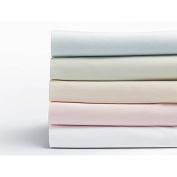 Coyuchi Sateen Organic Crib Sheets - Misty Ocean