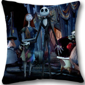 Xmas Gift The Nightmare Before Christmas Custom Zippered Pillowcase 18x18 L606