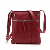 Welcomeuni Womens Handbag Leather Satchel Cross Body Shoulder Messenger Bag