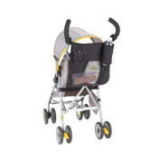 FAIRY BABY Breathable Carriage Bag for Stroller Black Net Mommy Bag