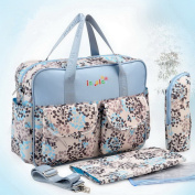 FAIRY BABY Anti-microbico Waterproof Multi-Use Baby Nappy Bag for Mommy,Dandelion