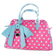 Zenith Lovely Baby Nappy Bag for Mom Double Shoulder Bag Cute Bag Double Shoulder Bag PINK colour