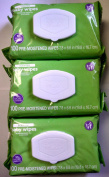 Berkley Jensen Green Tea & Cucumber Baby Wipes, 100 Count Pre-Moistened Wipe Soft Pack