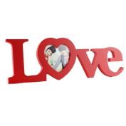 Coper® LOVE Designs WeddingLOVE Designs Wedding Photo Frame Wooden Craft Cutout Monogram Frames