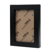 Coper® Solid Wooden Picture Frame Wall Mounted Hanging Photo Frame -15.5*11.2cm/6.1*4.4inch