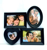 Decorative 4 Photo Family Collage Frame