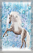 The Ice Horse Decorative Switchplate Cover
