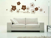 Petal Flowers Wall Stickers Wall Decals Large Removable Home Decor Murals