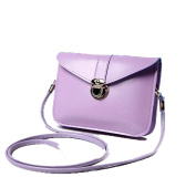 edfamily Women Mini Handbags Leather Crossbody Single Shoulder Bag Cellphone Pouch Purse Wallet