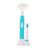 Gaodear Electric Sonic Toothbrush Wash Device Cleansing Instrument Battery Power 2 In 1 KEMEI-3106